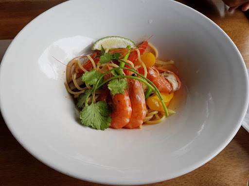 Seafood laksa pasta from Lavender Cottage Taiwan