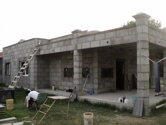 Construccion de viviendas industrializadas con bloques de for Casas en construccion