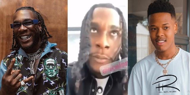 'I'll Put My Money On Nasty C Over Any American Rapper'- Burna Boy Causes Stir Online [Video]