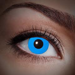Färglinser, UV Blå