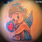 darling angel tattoo