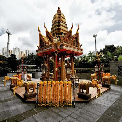 Four-Headed Buddha Shrine (11) ©LeDomduVin 2020