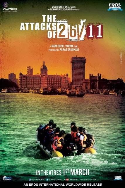 Poster Of Hindi Movie The Attacks of 26/11 (2013) Free Download Full New Hindi Movie Watch Online At Alldownloads4u.Com