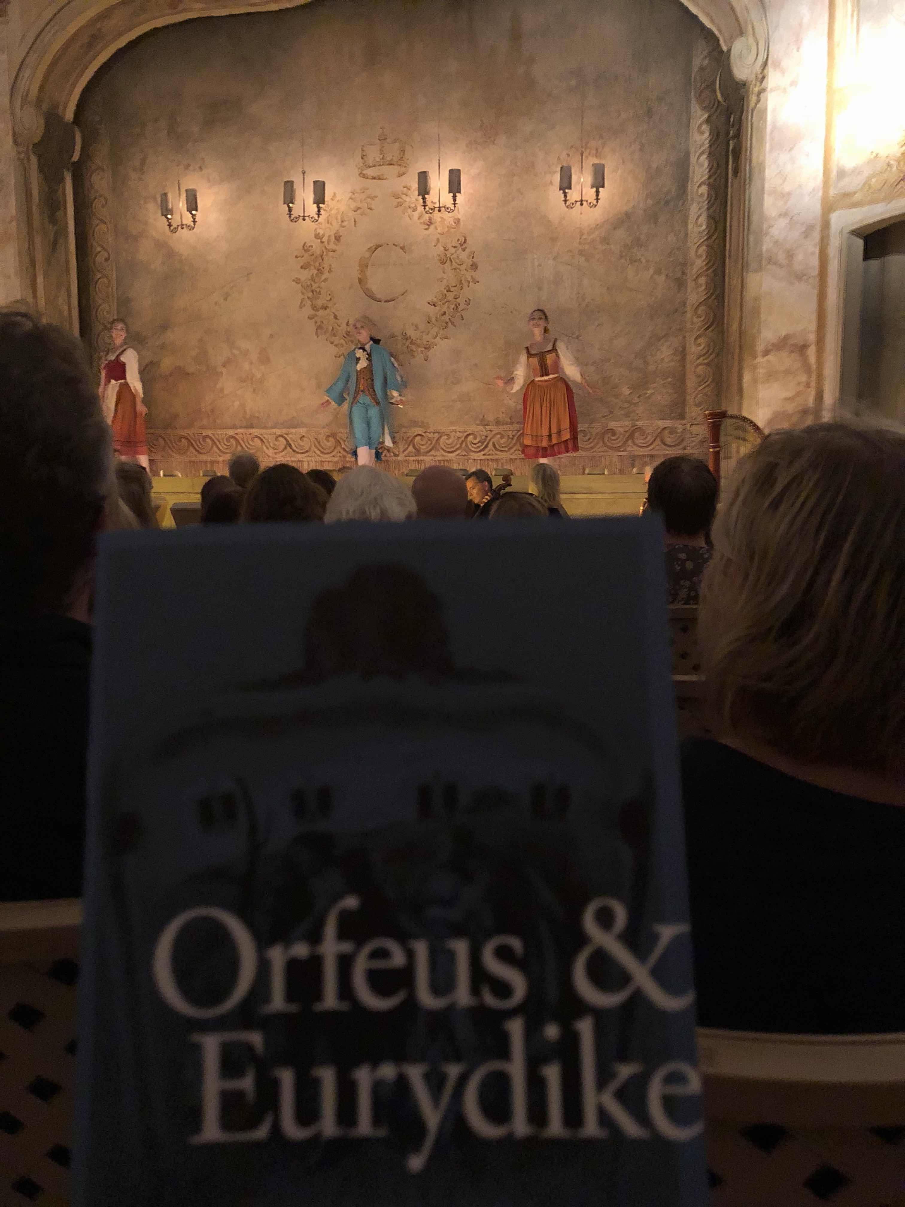 Orfeus pa operan 3