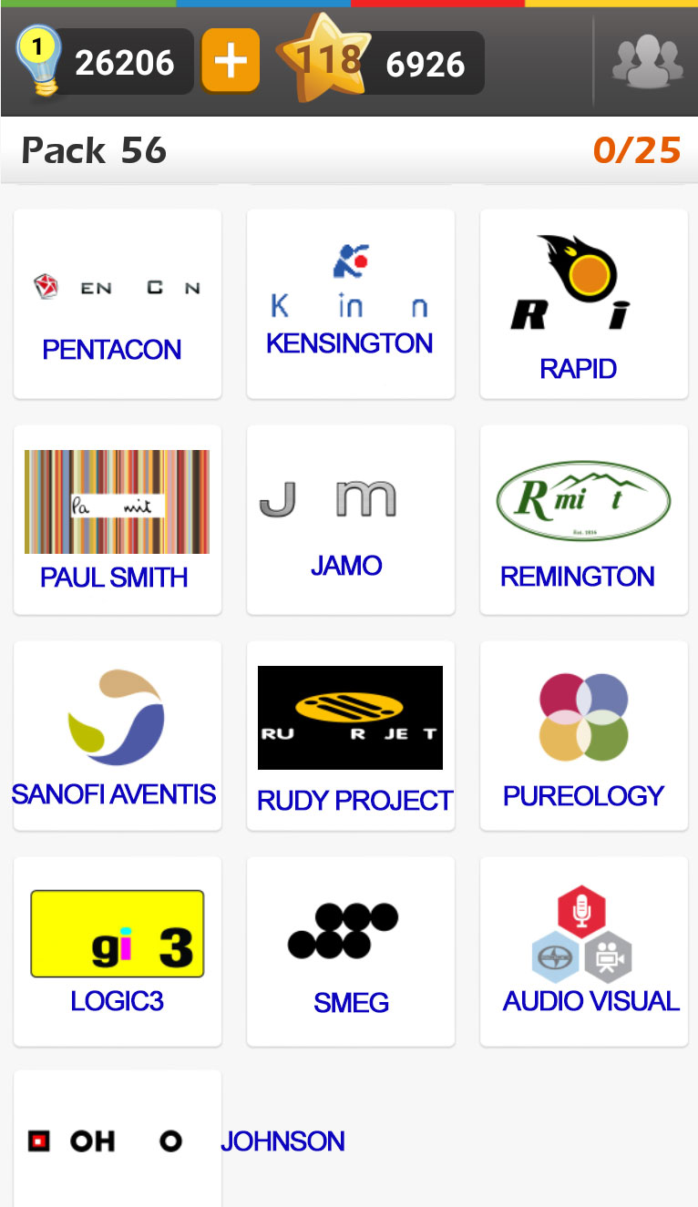 image gallery logo answers for facebook