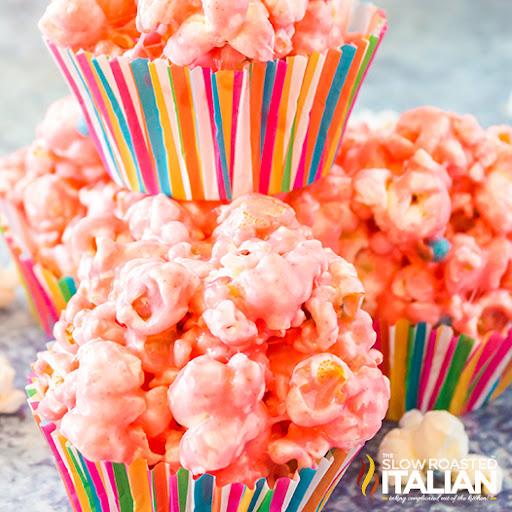 Strawberry Popcorn Ball Recipe