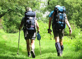 Walkers asked to donate to two local national trails
