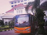 Sewa Bus Wisata Jogja Seat 50 Harga Rp. 2,2 Juta / Day