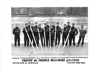 1989-La saison de l'équipe de France d'aviron