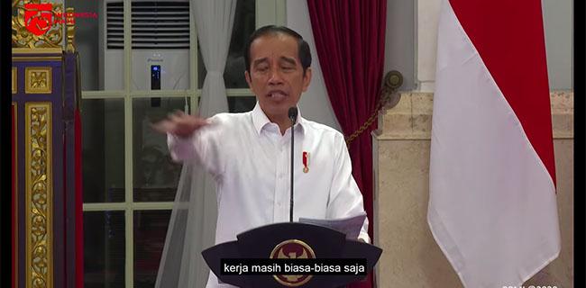 Alasan Video Presiden Jokowi Marah Baru Diunggah 10 Hari Kemudian