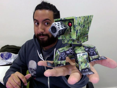 The Freaking Awesome Turret Paper Toy