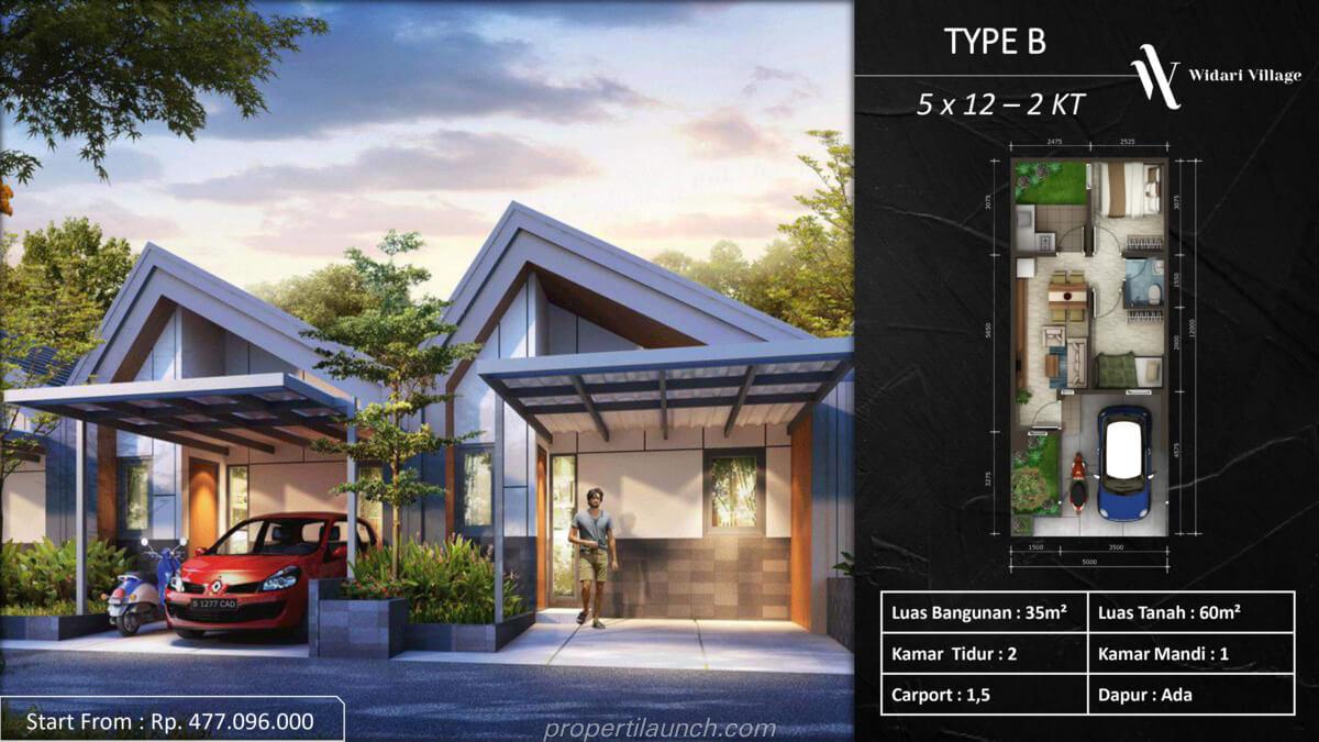Rumah Widari Village Tipe B