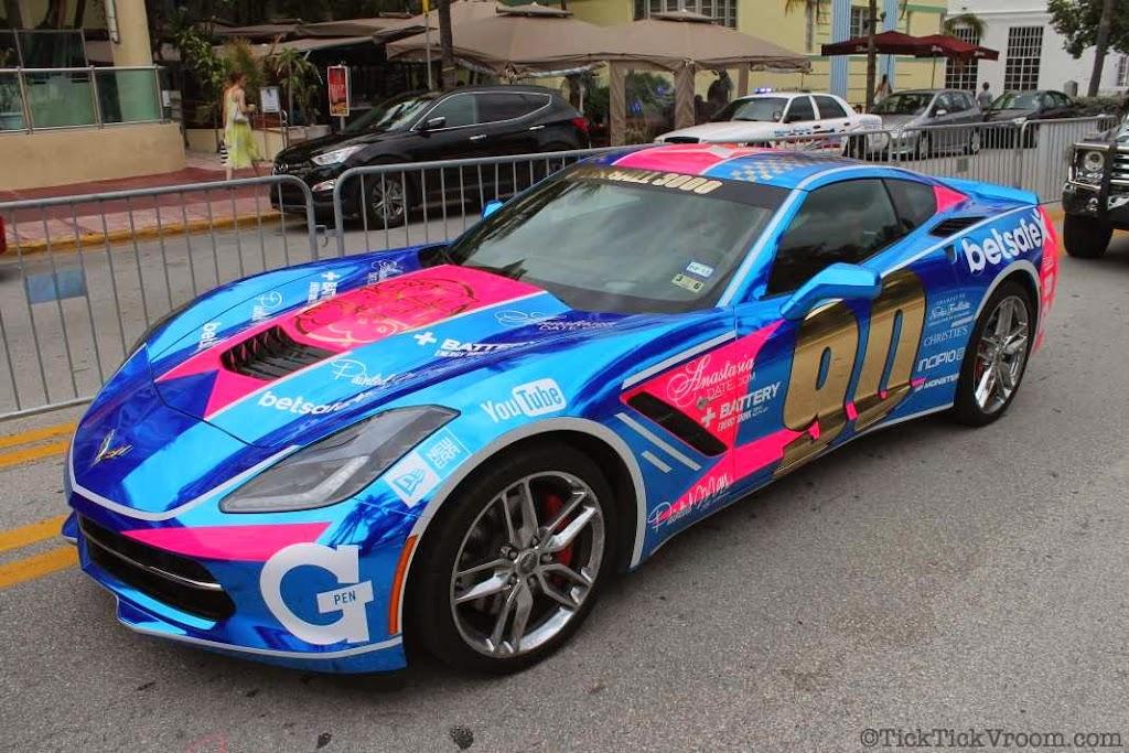2014 Gumball 3000 Miami 2 Ibiza Ocean Drive 7954