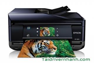 Tải về và cấu hình driver máy in Epson Expression Premium XP-800