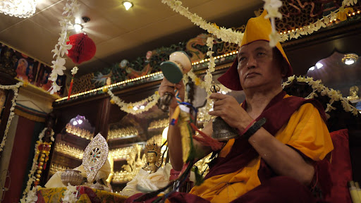 Long life puja in Hong Kong, 2010.