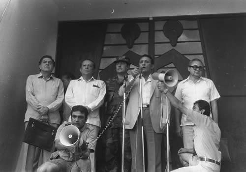 Primer Diálogo por la Paz en La Palma, Chalatenango, El Salvador