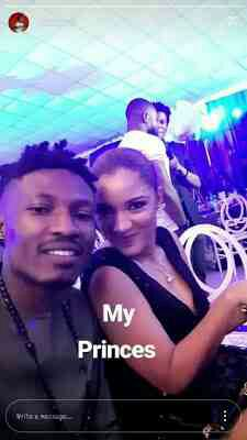 Efe Takes Picture With Gifty