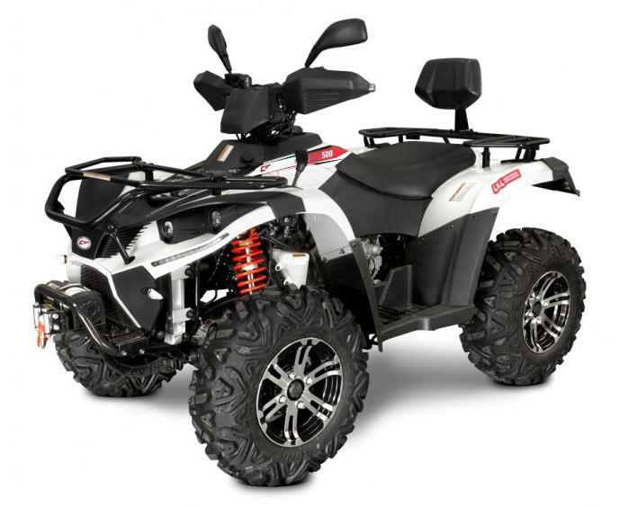 500cc 4x4 Linhai Yamaha Farm Quad Bike ATV White