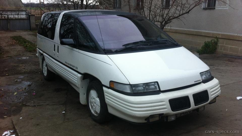 1993 Pontiac Trans Sport Minivan Specifications  Pictures