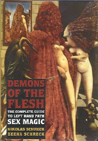 Cover of Nicolas Schreck's Book Demons of the Flesh