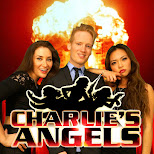 charlie's angels photoshoot in Toronto, Ontario, Canada