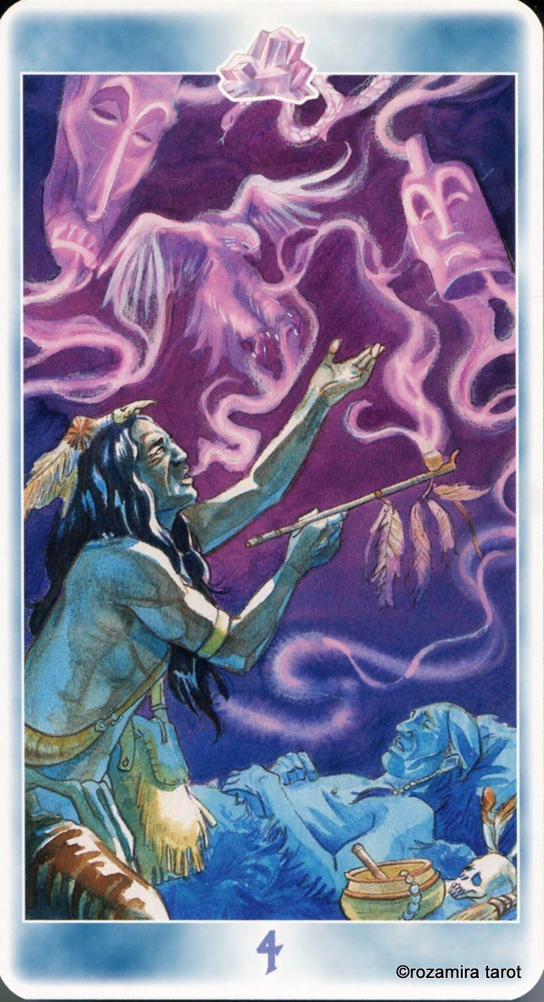 Карты таро шаманов фото