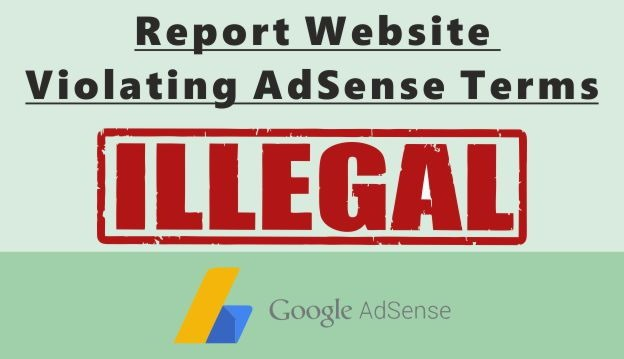 adsense terms violation