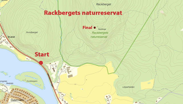 Söndag den 4 oktober kl 13 blir det samling på toppen av populära Rackberget, ja, vid grillplatsen som är ca 300 meter från själva toppen. Här bjuder vi på något gott att grilla. Hjälp till att bära upp ved från parkeringen (från kl. 11.45), ta en vedklabbe eller två i ryggan. Om du vill ha sällskap på vägen upp, anslut kl. 12.15.