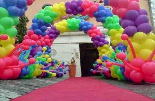 Usar articulos de globos para decorar el cumpleaños de tu pequeño nene