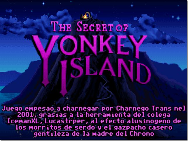 Yonkey Island titulo
