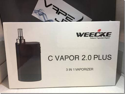 IMG 9235 thumb1 - 【タバコ増税の影響で人気沸騰!?】WEECKE C-VAPOR 2.0 PLUS【ヴェポライザーレビュー】~最近はこんなの流行ってんすね~(ΦдΦ)編~