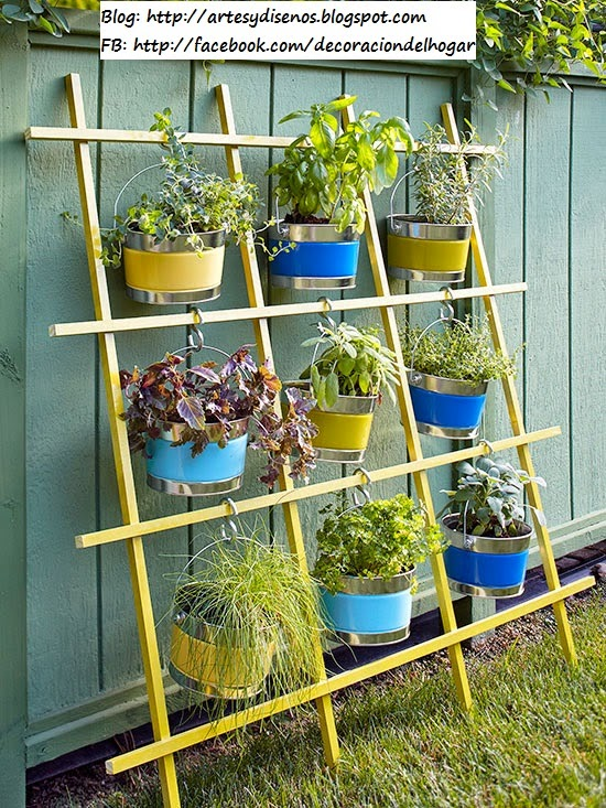 Ideas Para Arreglar Un Patio - Ideas-para-decorar-un-jardin-pequeo