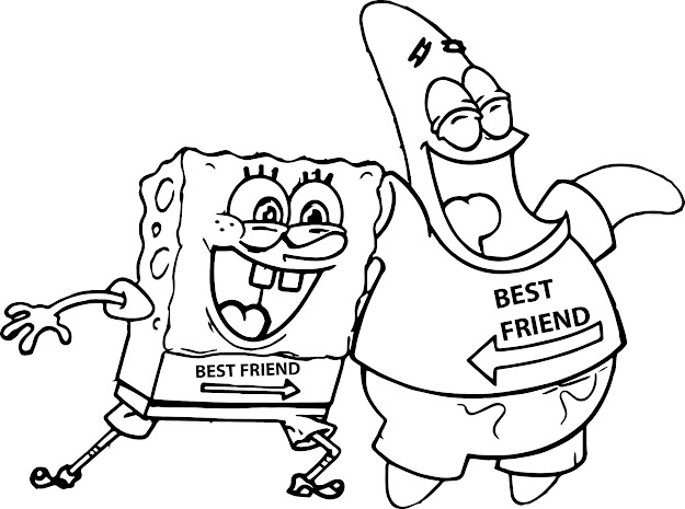 Best 15 Spongebob And Patrick Coloring Pages Free