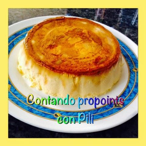 cocinando con pili com flan de queso quark por 14 pp