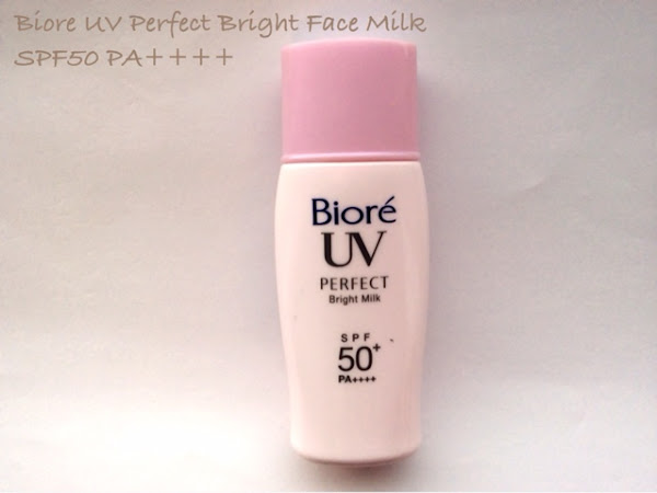 Biore UV Bright Face Milk spf50 PA++++