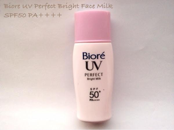 Biore UV Bright Face Milk spf50 PA++++