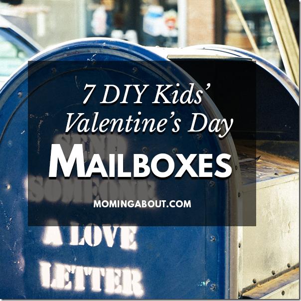 DIY Valentines Mailboxes