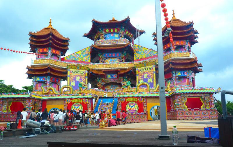 Tournage d une émission TV. Zhupu Altar ( Zhupu Tan )