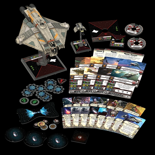 Wave 8 X-Wing GHOST