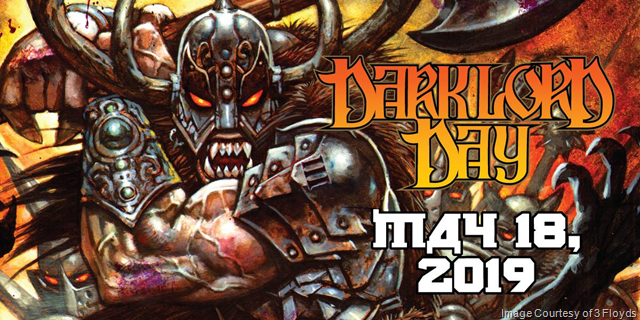 3 Floyds Dark Lord Day 2019 Coming May 18th