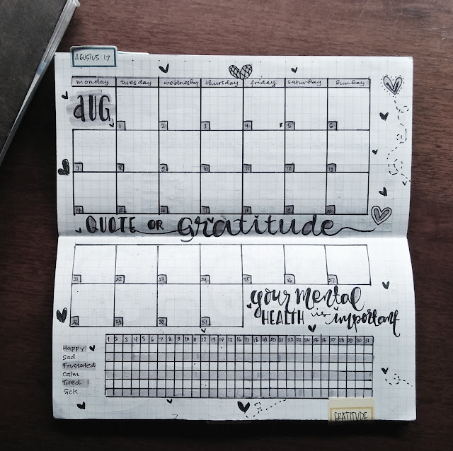 bujo for mental health