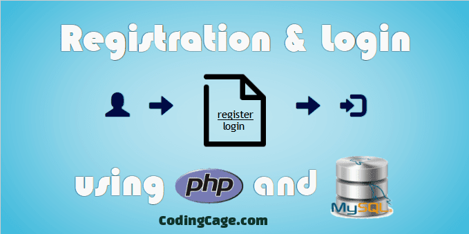 User Registration and Login Script with PHP and MySQL