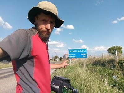 , EVKM 2018 / Ден 8 – 88 км. / Одрин – Лозенград (Kirklareli)
