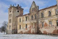 ruina zamku w Galowie
