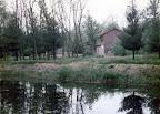Il laghetto davanti alla casa (anni '80)