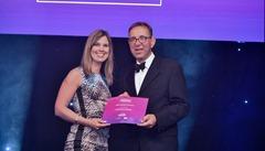 julie with award
