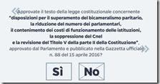 Referendum sulle riforme costituzionali il 4 dicembre 2016