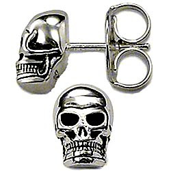 Thomas Sabo silver skull earrings