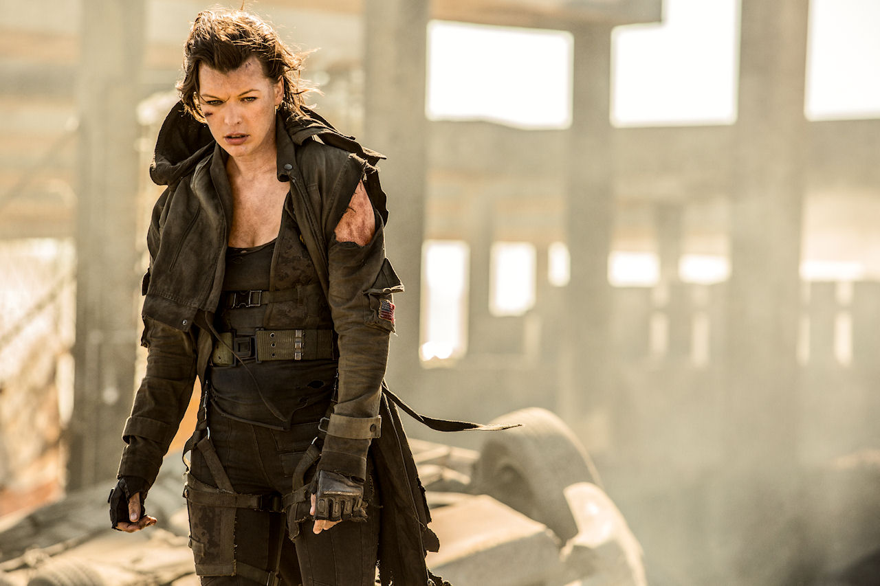 Milla Jovovich stars in Screen Gems' RESIDENT EVIL: THE FINAL CHAPTER. (Photo by Ilze Kitshoff / courtesy of Sony Pictures)
