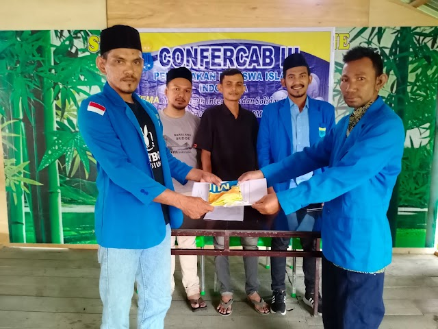 PMII Aceh Timur Gelar Konfercab, Nasruddin Terpilih Sebagai Ketua